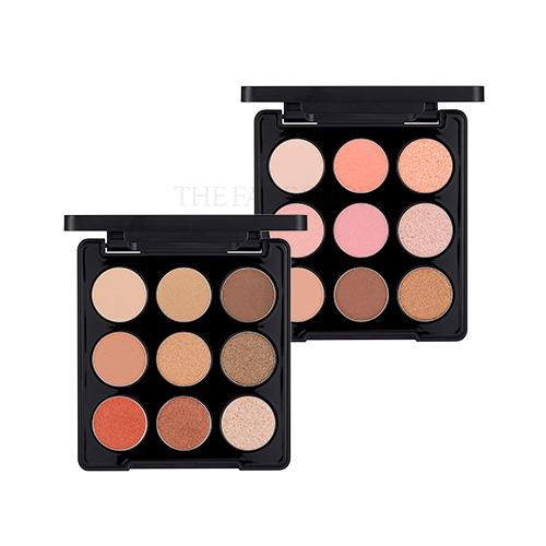 the face shop eyeshadow palette review