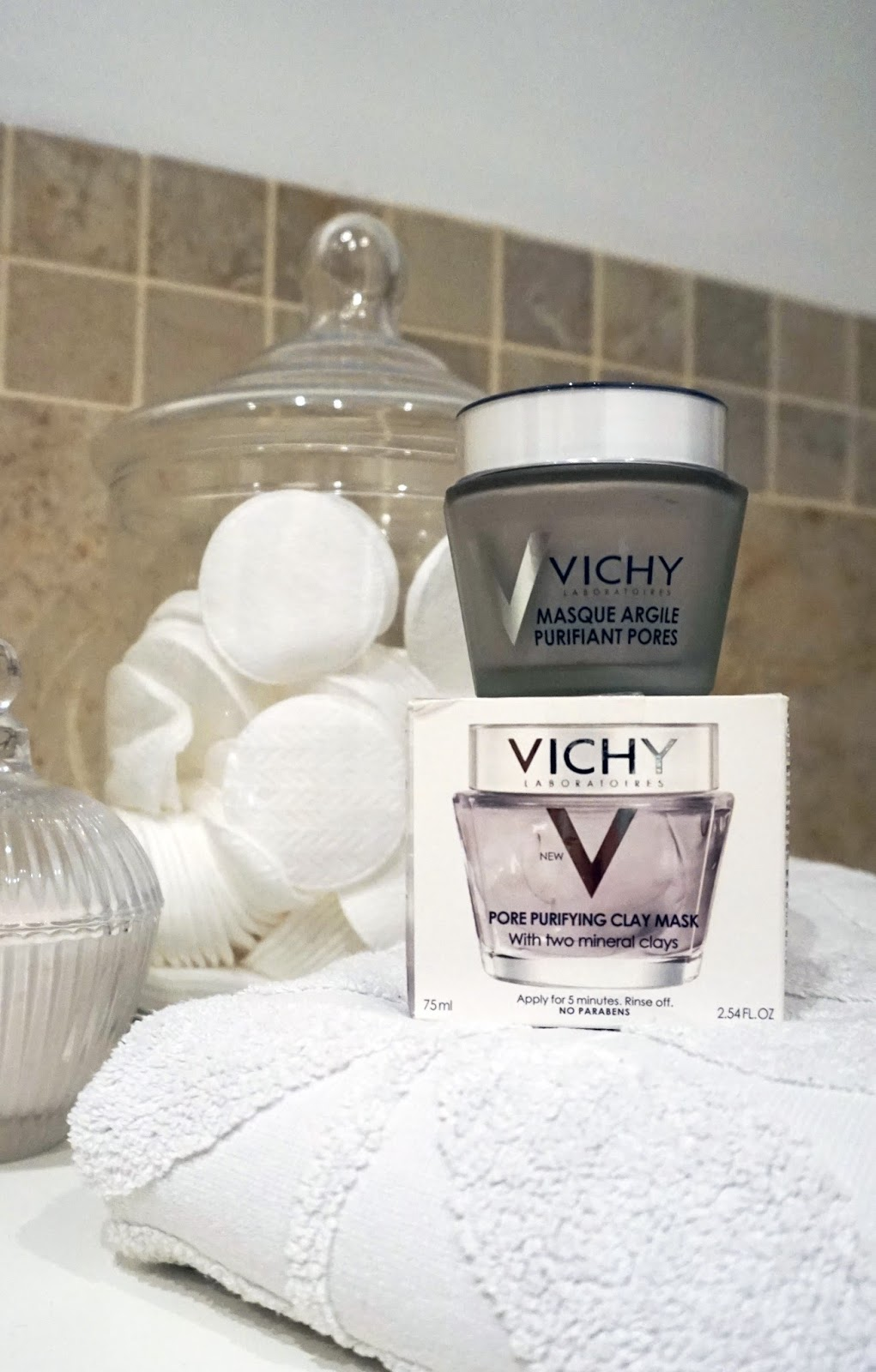 pore purifying clay mask vichy review