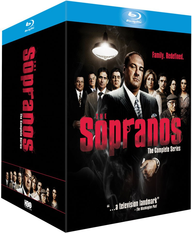 the sopranos blu ray review
