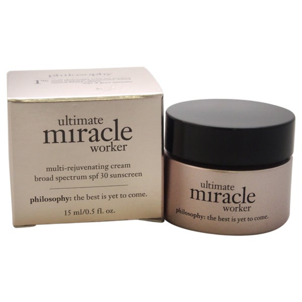 miracle worker moisturizer philosophy review