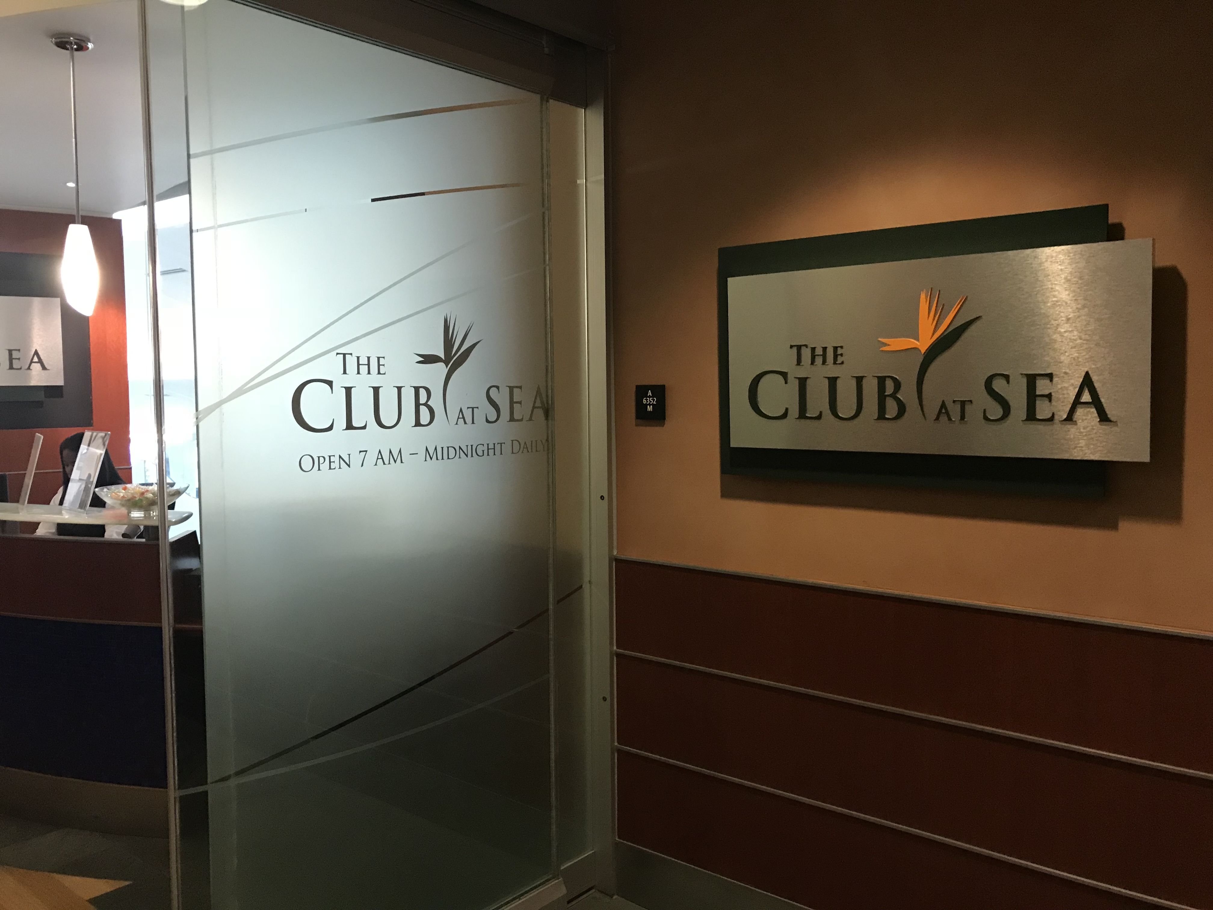 the club at sea review