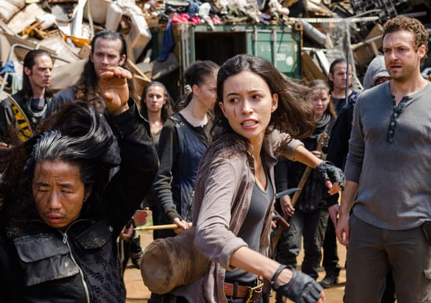 the walking dead say yes review