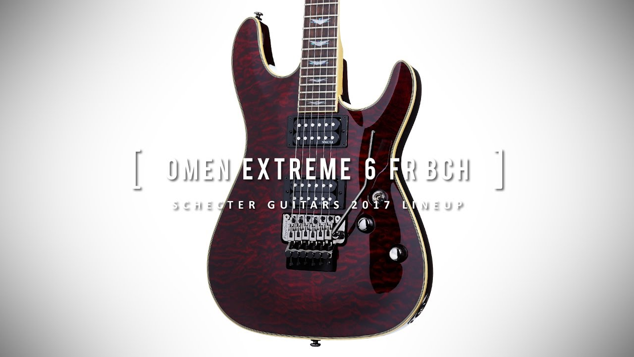 schecter omen extreme 6 review