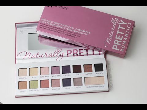 it cosmetics naturally pretty essentials palette review