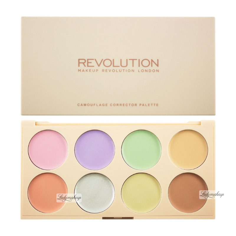 makeup revolution camouflage corrector palette review