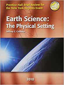 reviewing earth science the physical setting