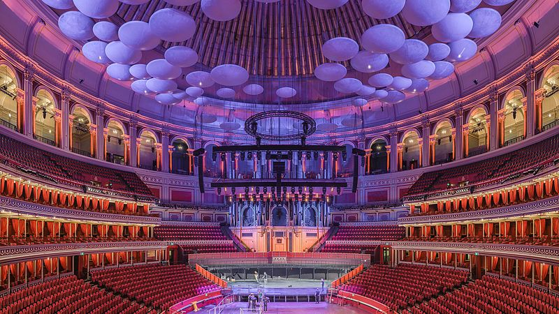 royal albert hall gallery standing review