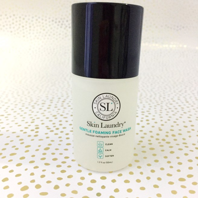 skin laundry gentle foaming face wash review