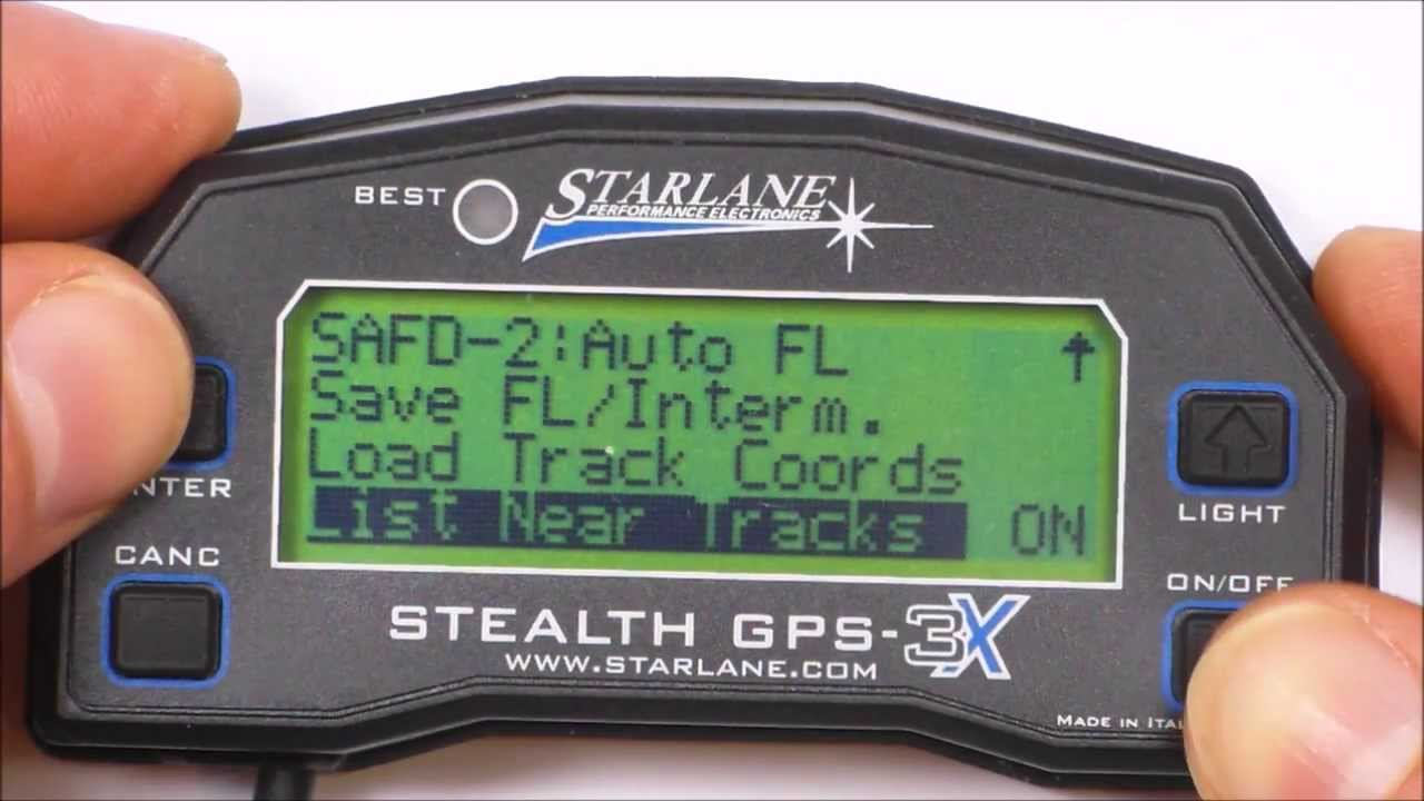 starlane stealth gps 4 review