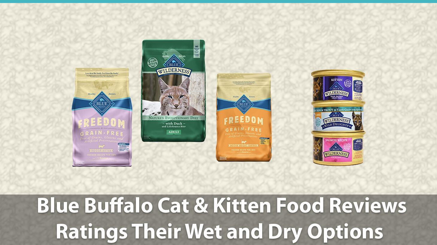 the blue buffalo cat food review