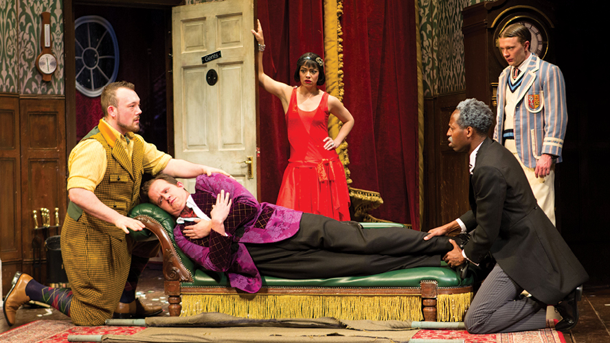 the play that goes wrong new york times review