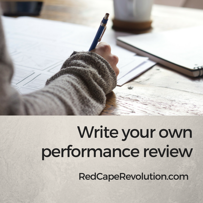 writing your own performance review