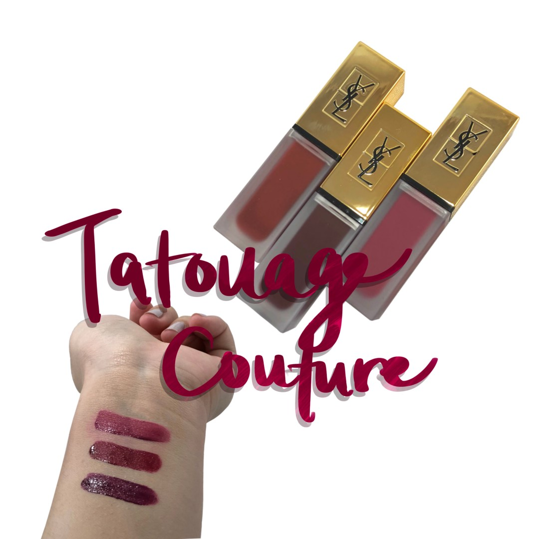 ysl tatouage couture matte stain review